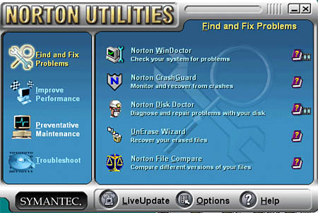 history of norton utilitiesnorton utilities is a set of programs designed to keep the user\u0027s system running in peak performan