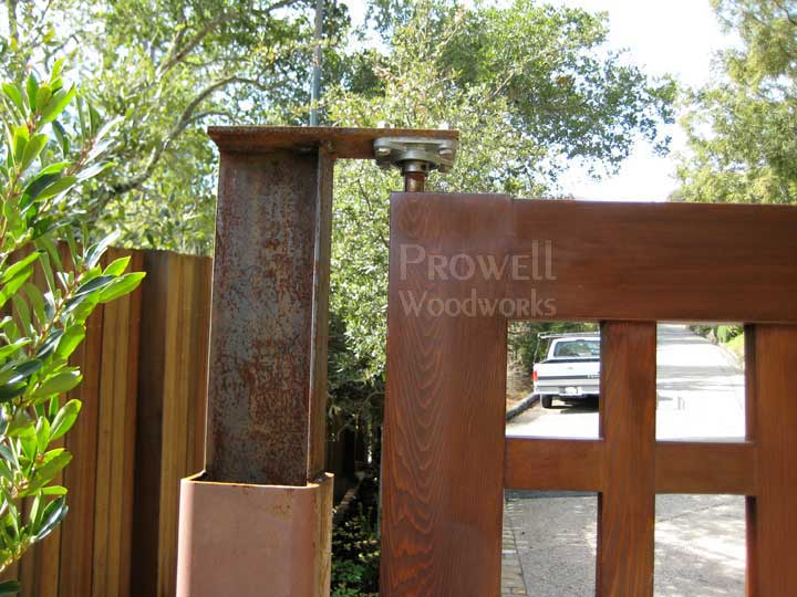 Custom Wood Driveway Gates 13 In California By Prowell
