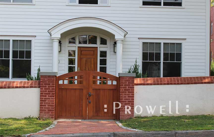 Custom Wood Garden Gate 20 From Prowell