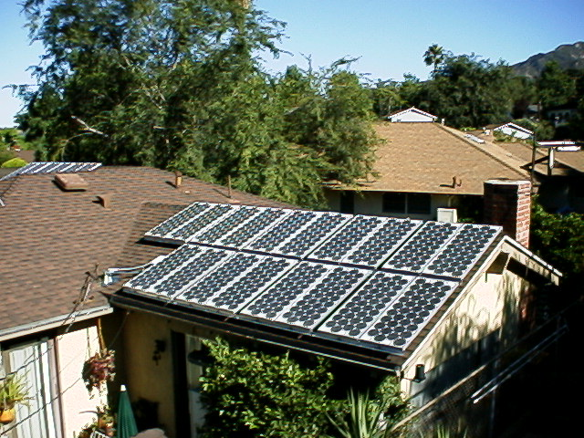 Our 4kw grid tied solar power system a real life example that cheapraybanclubmaster Gallery