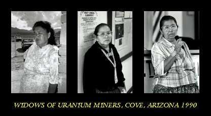 "uranium miners"" widows"